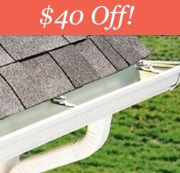 Edmonton Eavestrough Cleaning $40 off