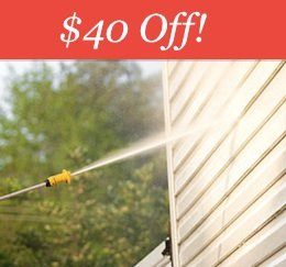 Edmonton Pressure Cleaning Deal - $40 off